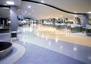 Homogeneous Direction PVC/Vinyl Sheet Flooring