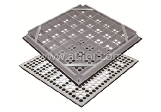 45% Ventilation Steel Air-flow Raised Floor