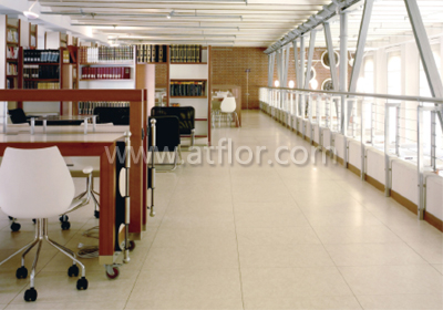 Homogeneous Commercial PVC/Vinyl Tile