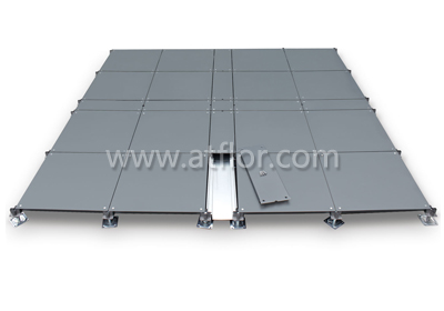 600mm Trunking Bare Steel Raised Access Floor System