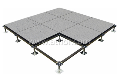 PVC coated calcium sulphate raised access floor